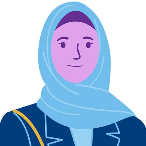 illustration of anonymous participant